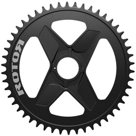 Rotor Round Ring Plateau 1x DM Alu, black